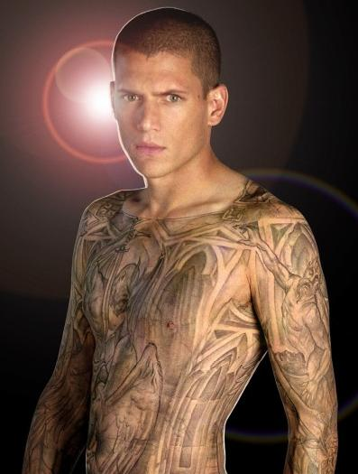 Model Tatouage, prison break